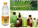 Эфирные масла, хвоя и уксус