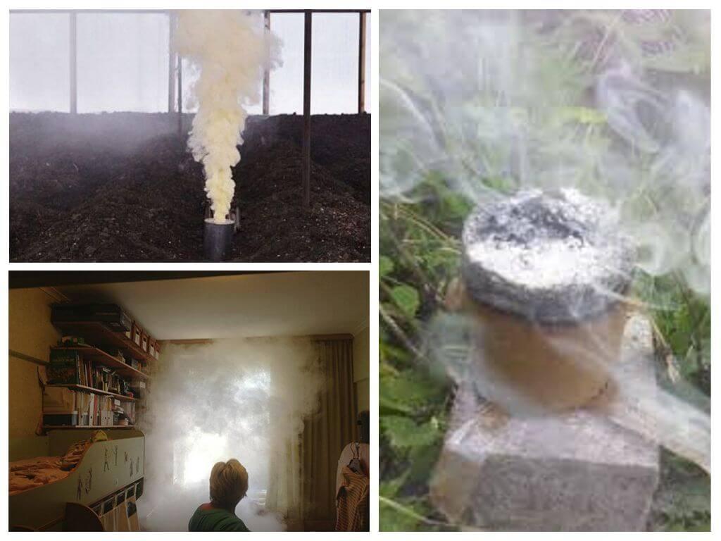 Как легко сделать дымовую шашку