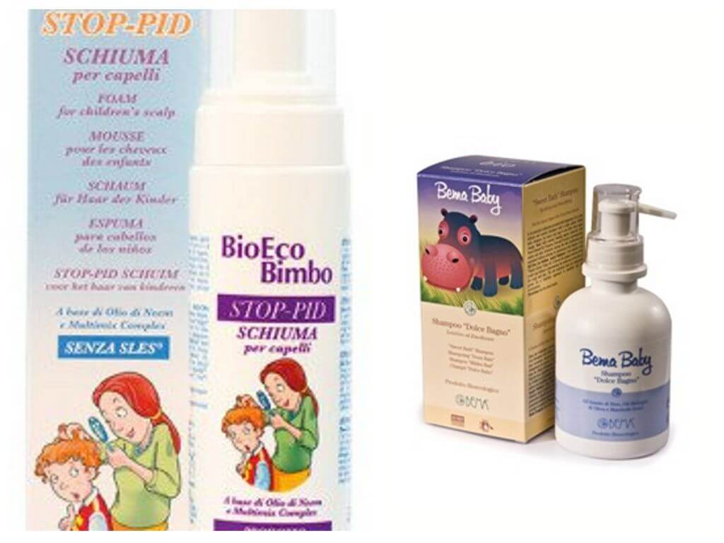 Пенка-шампунь Bio Stop-Pid For Children's Scalp