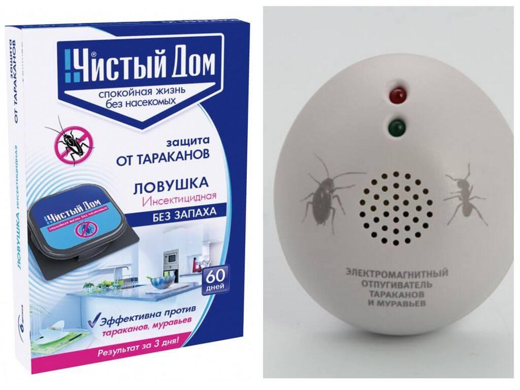 ловушки и отпугиватели от насекомых