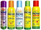 Аэрозоли Picnic от комаров