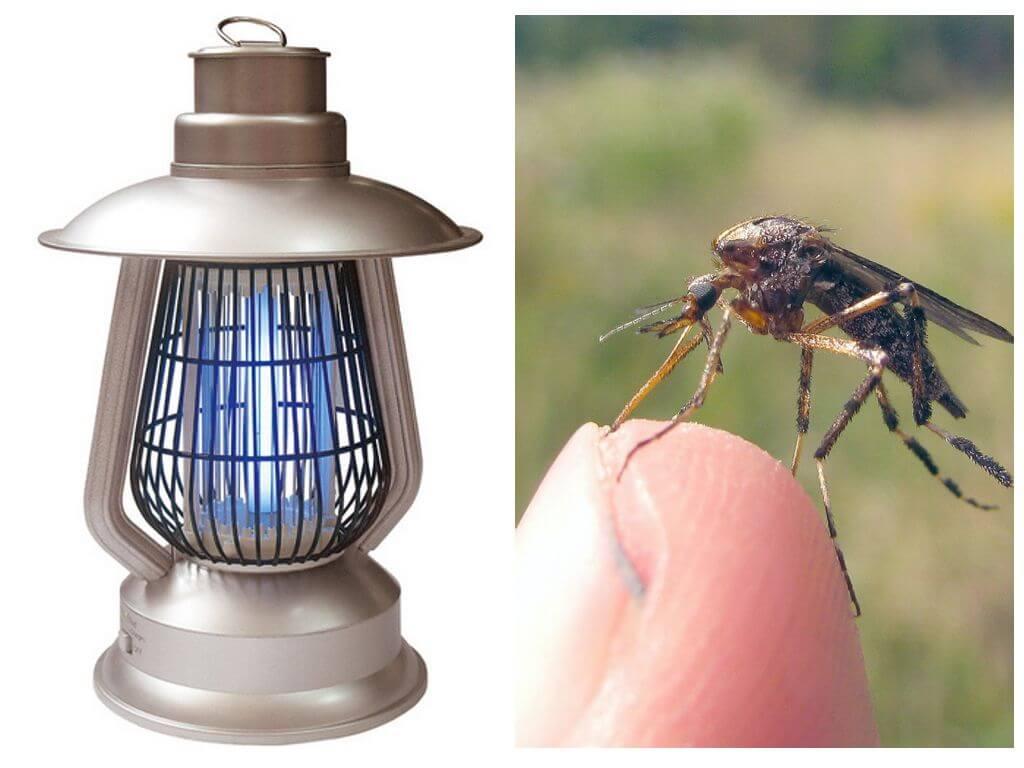 Электролампа от комаров Терминатор