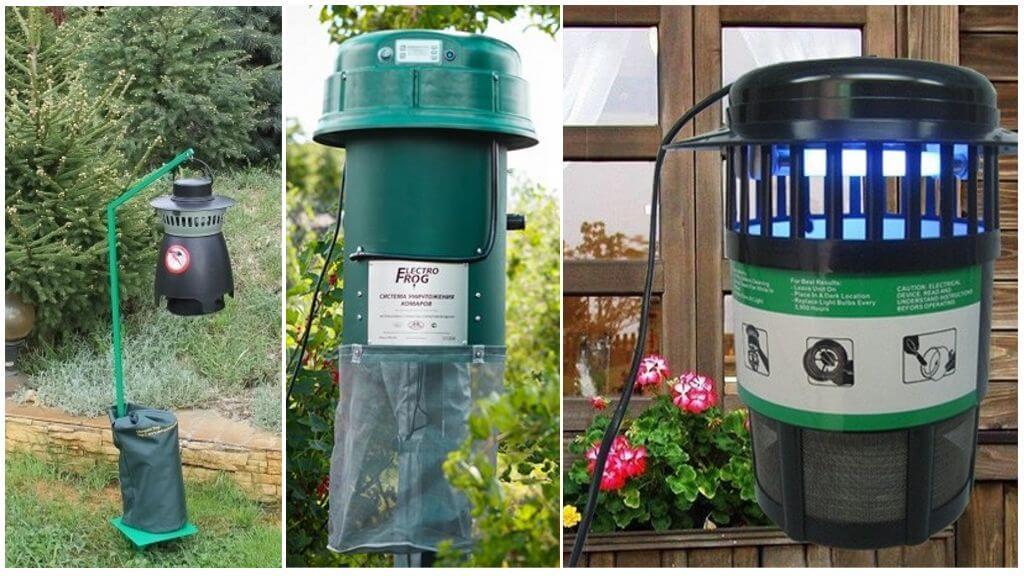 Отпугиватели и уничтожители комаров для дачи