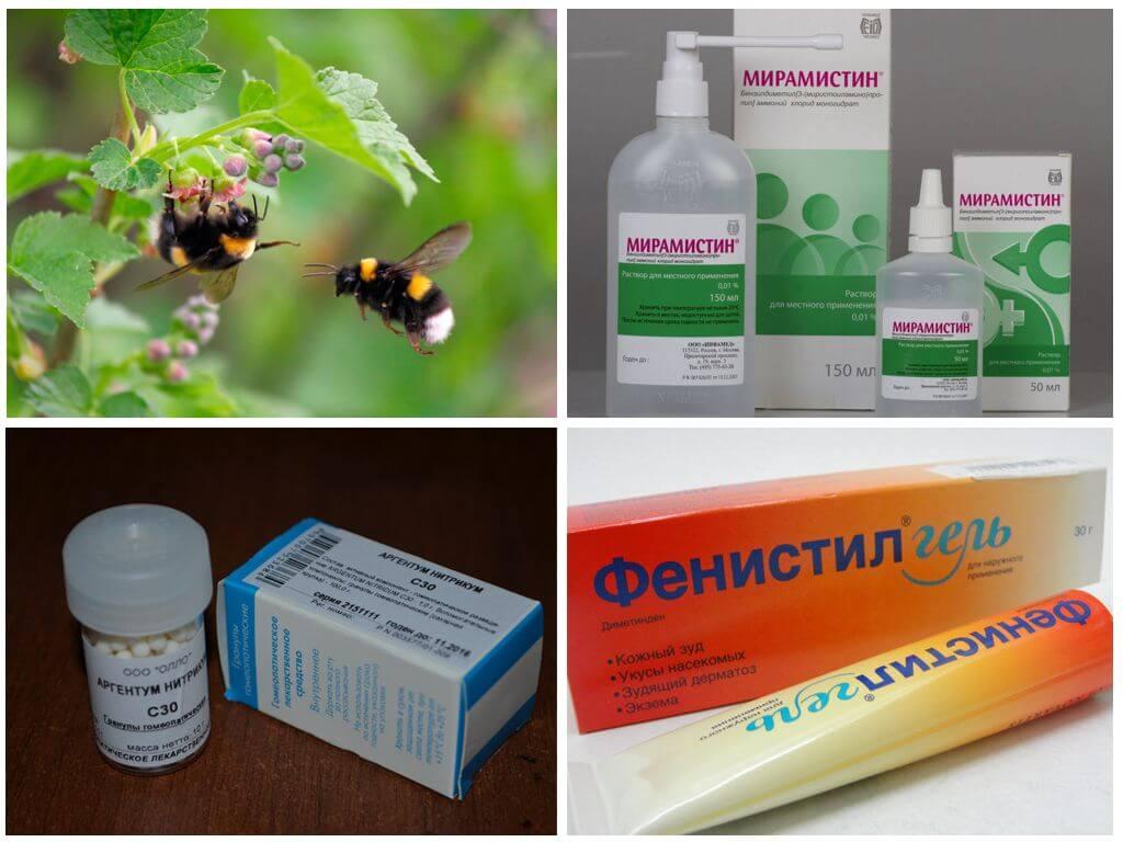 Лечение укуса насекомого