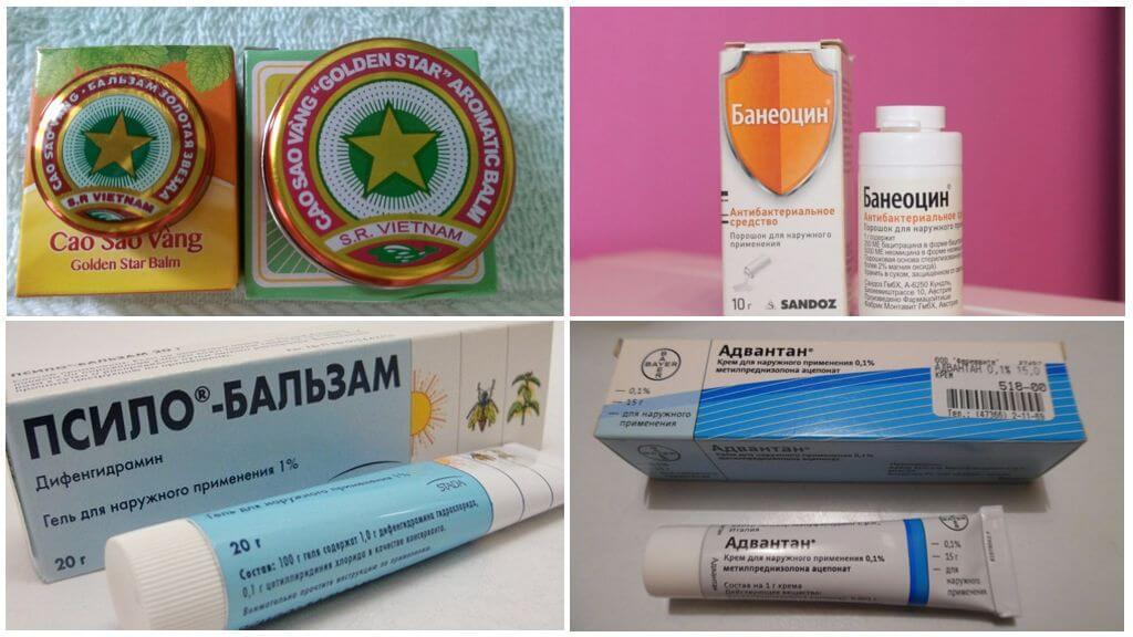 Продукты от укусов комаров