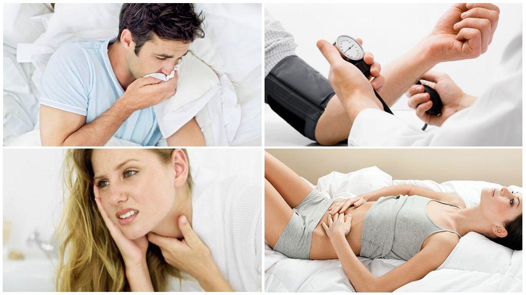 Симптомы заболеваний после укуса инфицированного клеща