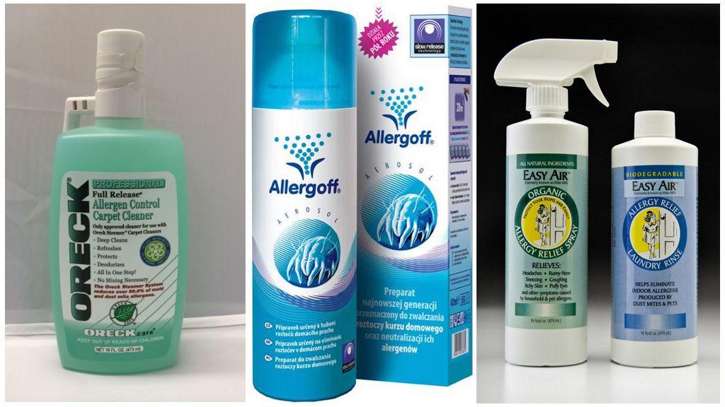 Специальные средства от пылевых клещей