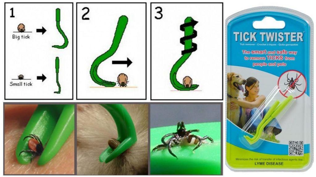 Прибор Tick Twister для извлечения клещей