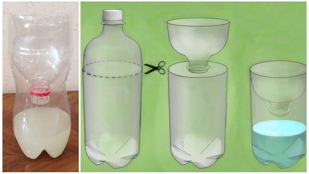 Ловушка-капкан из пластиковой бутылки