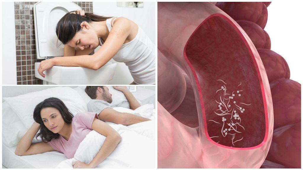 Последствия энетеробиоза