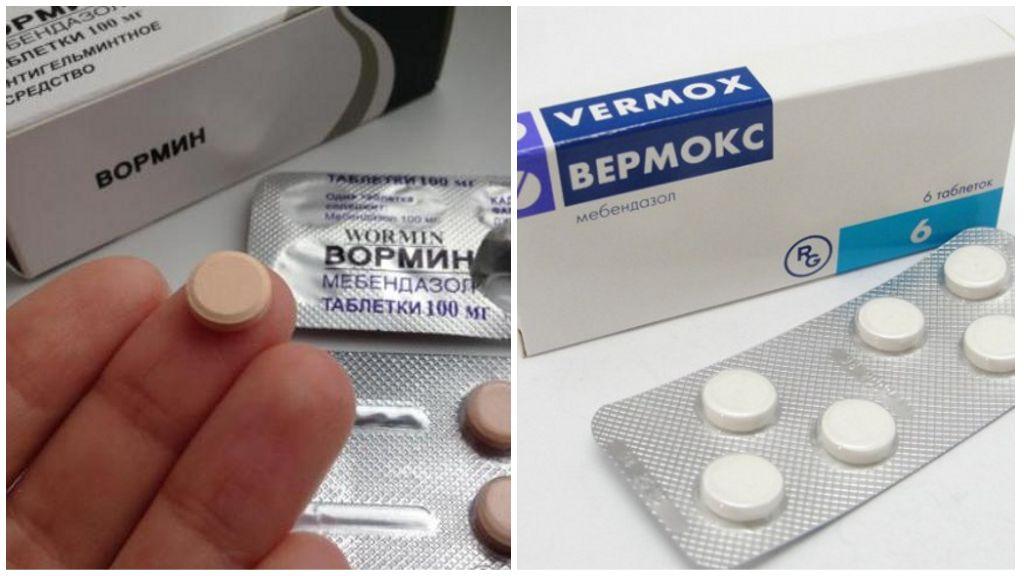 Мебендазол против остриц