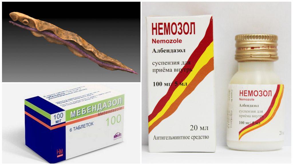Лекарства от трематод