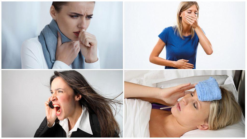 Симптомы трематод у человека