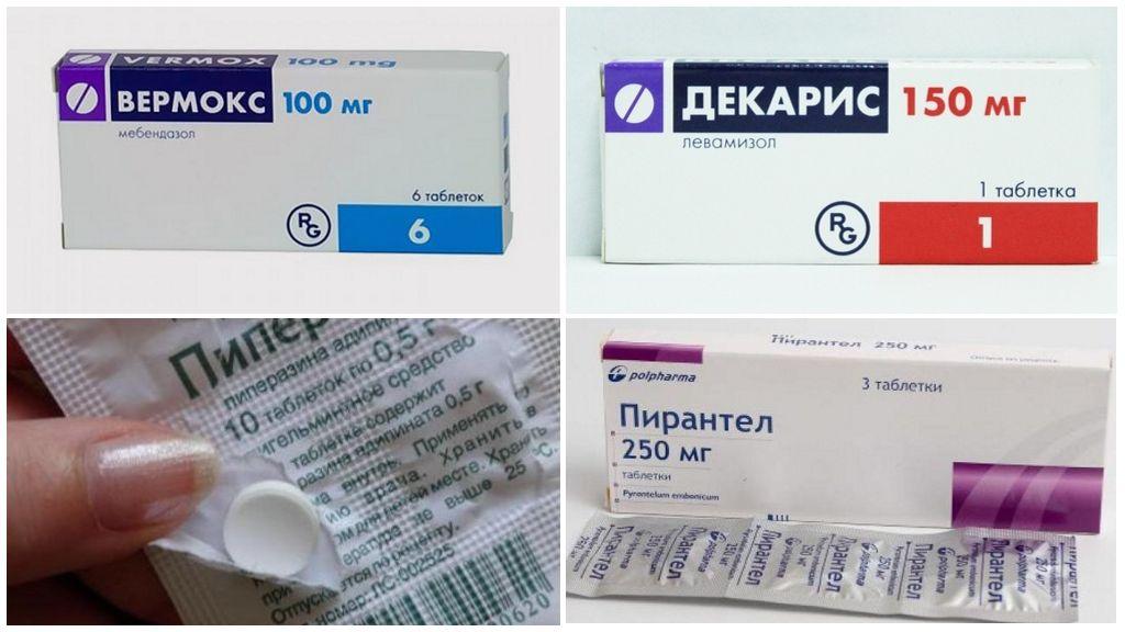 Лекарства от энтеробиоза