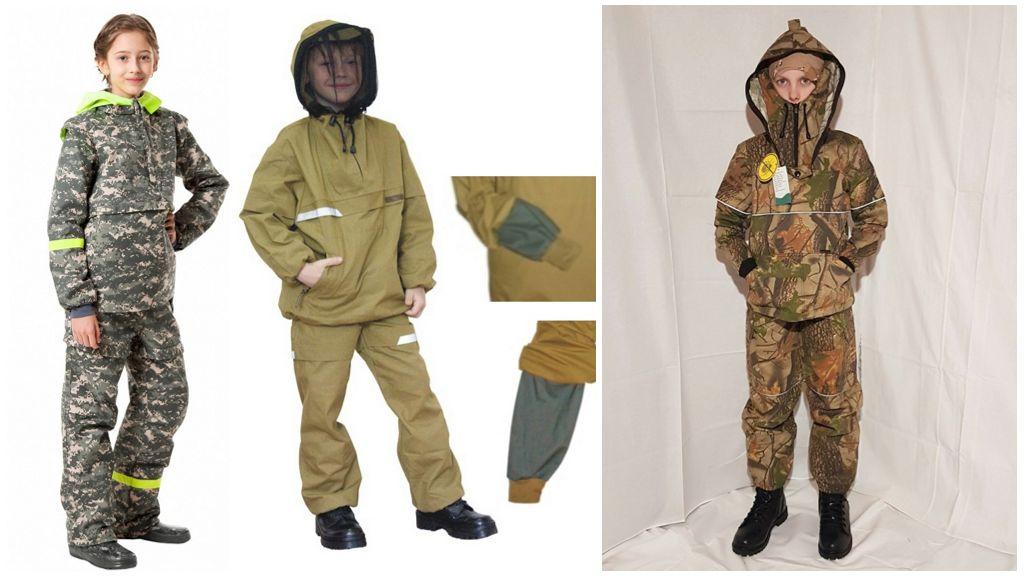 Детские костюмы от клещей