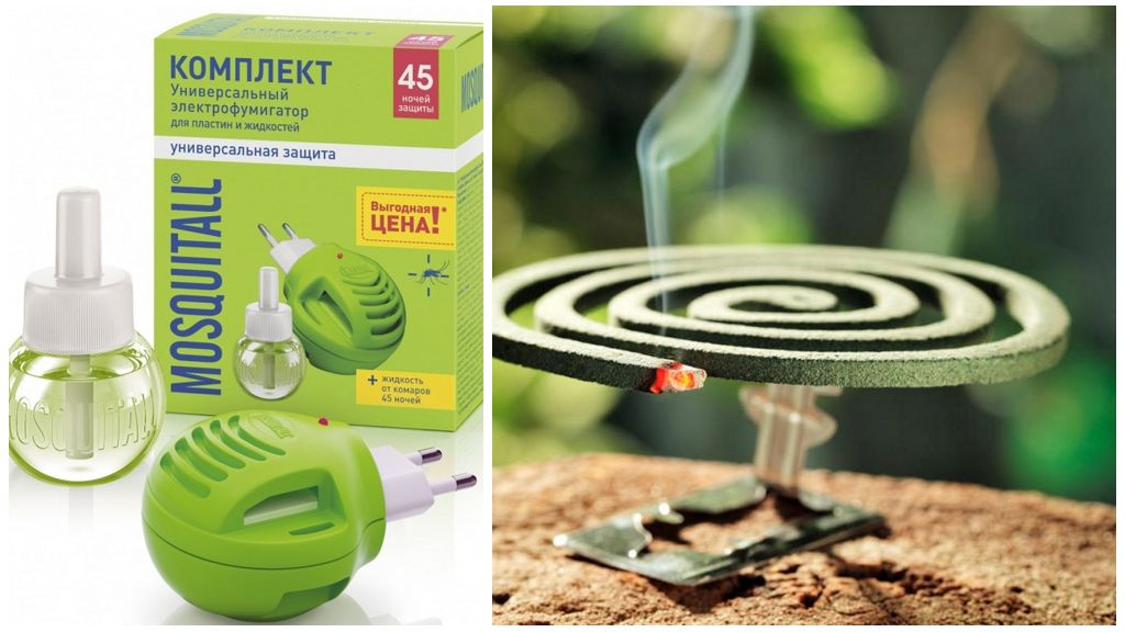 Фумигаторы против насекомых