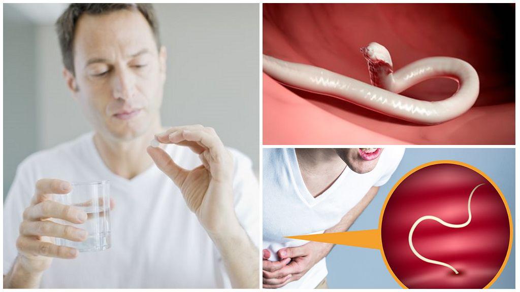 Выведение глистов из организма