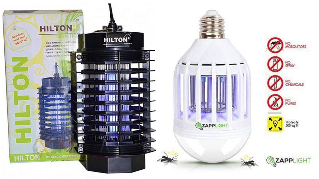 Инсектицидные лампы от насекомых