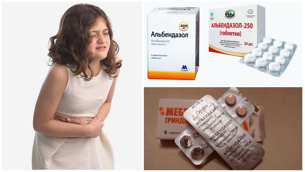 Лекарства от паразитов