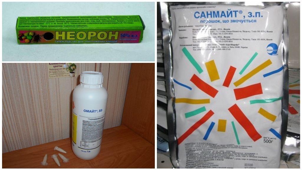 Химические средства от вредителей
