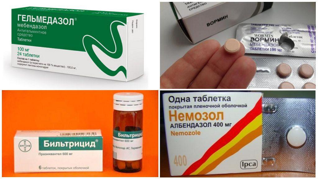 Препараты против паразитов
