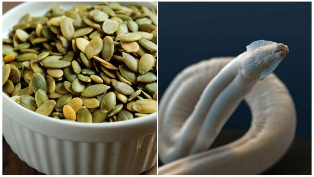 Семена тыквы от паразитов