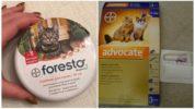 Средства от клещей для кошек