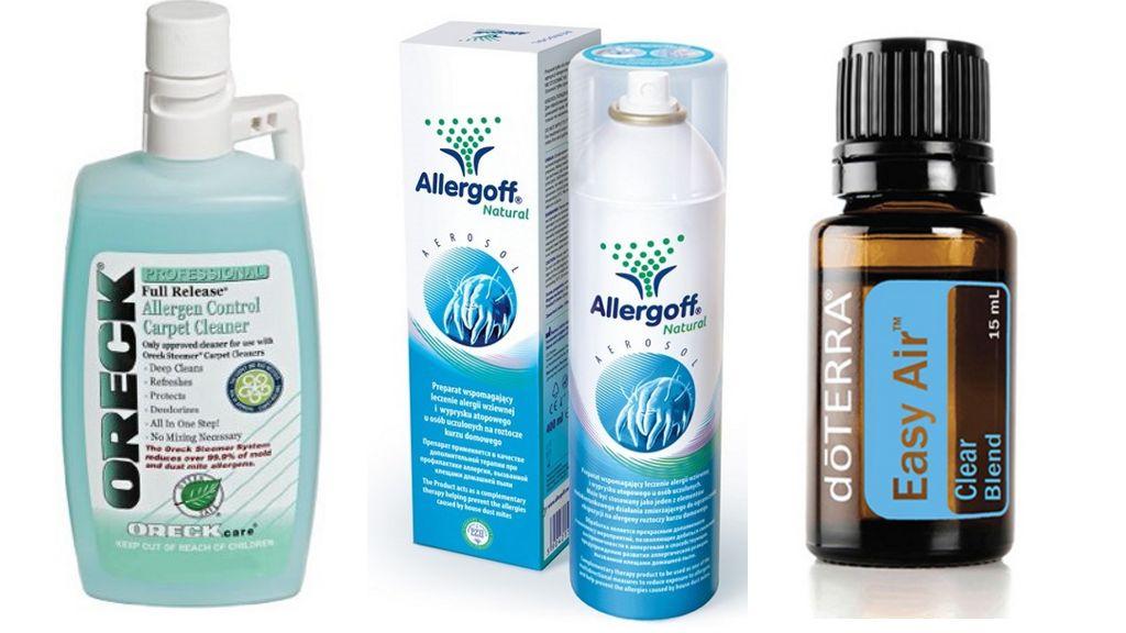 Средства против пылевых клещей