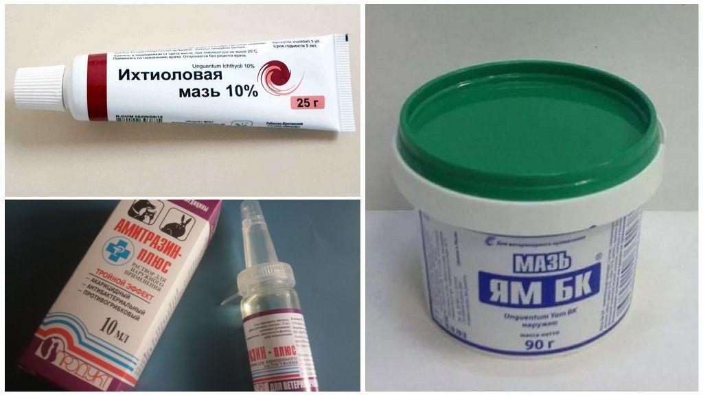 Препараты от демодекоза