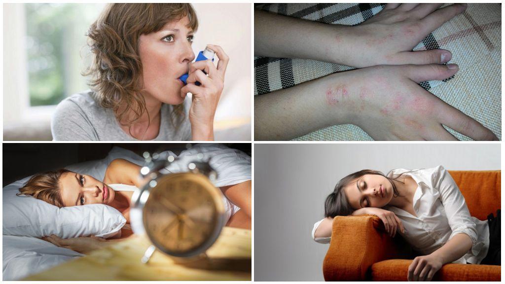 Симптомы присутствия глистов