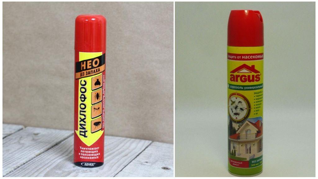 Аэрозоли от тараканов без запаха